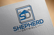 Shepherd Drywall Logo - Entry #208