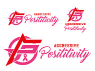 Aggressive Positivity  Logo - Entry #23