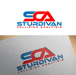 Sturdivan Collision Analyisis.  SCA Logo - Entry #18