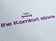 the Komfort store Logo - Entry #33