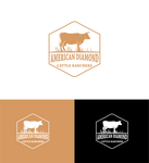 American Diamond Cattle Ranchers Logo - Entry #42