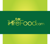 iHireFood.com Logo - Entry #122