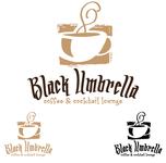 Black umbrella coffee & cocktail lounge Logo - Entry #12