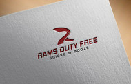 Rams Duty Free + Smoke & Booze Logo - Entry #103
