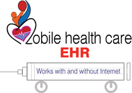 Mobile Healthcare EHR Logo - Entry #105