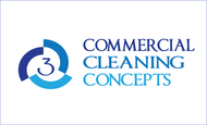 Commercial Cleaning Concepts Logo - Entry #68