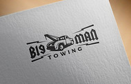 Big Man Towing Logo - Entry #82