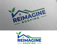 Reimagine Roofing Logo - Entry #350