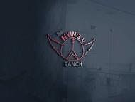 The Flying V Ranch Logo - Entry #64