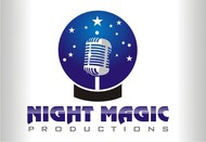 Night Magic Productions Logo - Entry #14