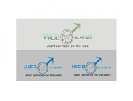 Logo for WebAlarms - Alert services on the web - Entry #102