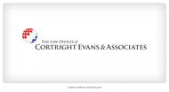 Law Office of Cortright, Evans and Associates Logo - Entry #5