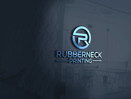 Rubberneck Printing Logo - Entry #43