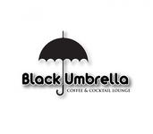 Black umbrella coffee & cocktail lounge Logo - Entry #102