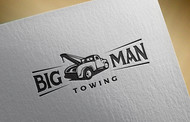 Big Man Towing Logo - Entry #49