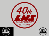 40th  1973  2013  OR  Since 1973  40th   OR  40th anniversary  OR  Est. 1973 Logo - Entry #106