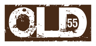 """""""OLD 55"""" - mid-century vintage furniture and wares store Logo - Entry #24"""