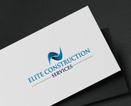 Elite Construction Services or ECS Logo - Entry #181