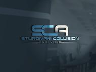 Sturdivan Collision Analyisis.  SCA Logo - Entry #32