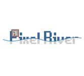 Pixel River Logo - Online Marketing Agency - Entry #45
