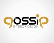 Gossip Interior Design Logo - Entry #86