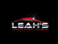 Leah's auto & nail lounge Logo - Entry #177