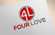 Four love Logo - Entry #130