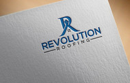 Revolution Roofing Logo - Entry #450