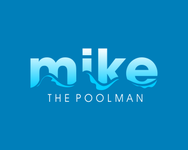 Mike the Poolman  Logo - Entry #55