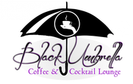 Black umbrella coffee & cocktail lounge Logo - Entry #38