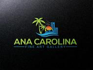 Ana Carolina Fine Art Gallery Logo - Entry #229