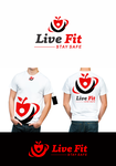 Live Fit Stay Safe Logo - Entry #150