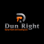 Dun Right Spray Foam and Coating LLC Logo - Entry #79