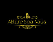 Allure Spa Nails Logo - Entry #101
