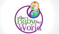 Logo for our Baby product store - Our Baby Our World - Entry #68