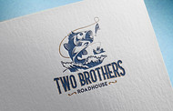 Two Brothers Roadhouse Logo - Entry #125