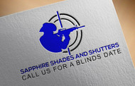 Sapphire Shades and Shutters Logo - Entry #57