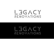 LEGACY RENOVATIONS Logo - Entry #43