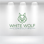 White Wolf Consulting (optional LLC) Logo - Entry #484