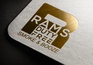 Rams Duty Free + Smoke & Booze Logo - Entry #99