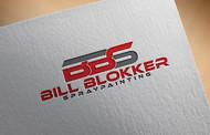 Bill Blokker Spraypainting Logo - Entry #217