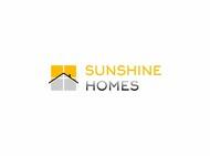 Sunshine Homes Logo - Entry #73