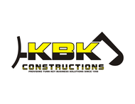 KBK constructions Logo - Entry #131