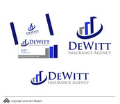 """DeWitt Insurance Agency"" or just ""DeWitt"" Logo - Entry #179"