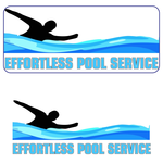 Effortless Pool Service Logo - Entry #1