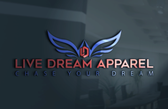 LiveDream Apparel Logo - Entry #100