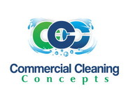 Commercial Cleaning Concepts Logo - Entry #81