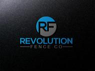 Revolution Fence Co. Logo - Entry #349