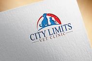 City Limits Vet Clinic Logo - Entry #48