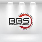 Bill Blokker Spraypainting Logo - Entry #53